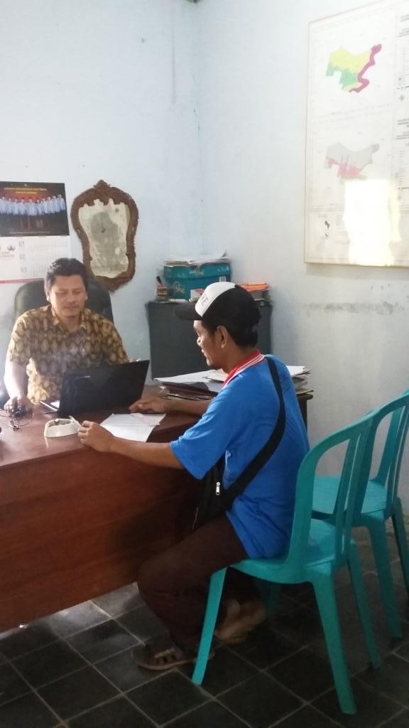 Pemerintah Desa dengan KPMD diskusi tentang Pelayanan Masyarakat
