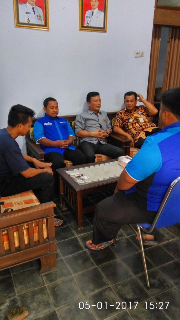 Silaturahmi Dengan Pak Camat Dan Pak Sekertaris Kecamatan Yang Baru