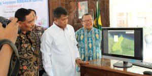 Launching SIDEKEMCenterTOP oleh Bupati Pemalang